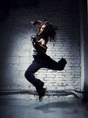 nedbalý call girl tanec